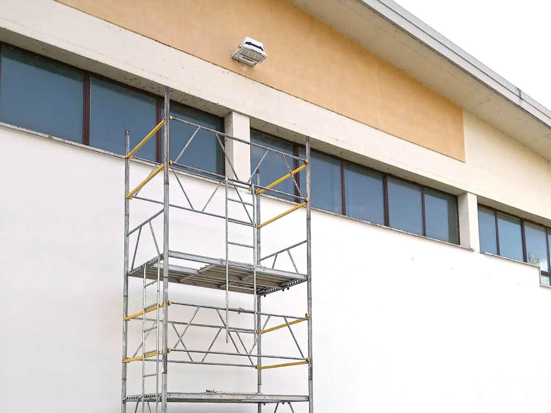 Capannone pittura da esterno